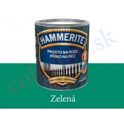 AkzoNobel Hammerite priamo na hrdzu hladký zelený 0,7l