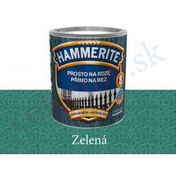 AkzoNobel Hammerite priamo na hrdzu kladivkový zelený 0,7l