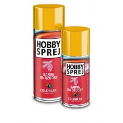 COLORLAK Hobby sprej na ozdoby C0961 zlatý 400ml